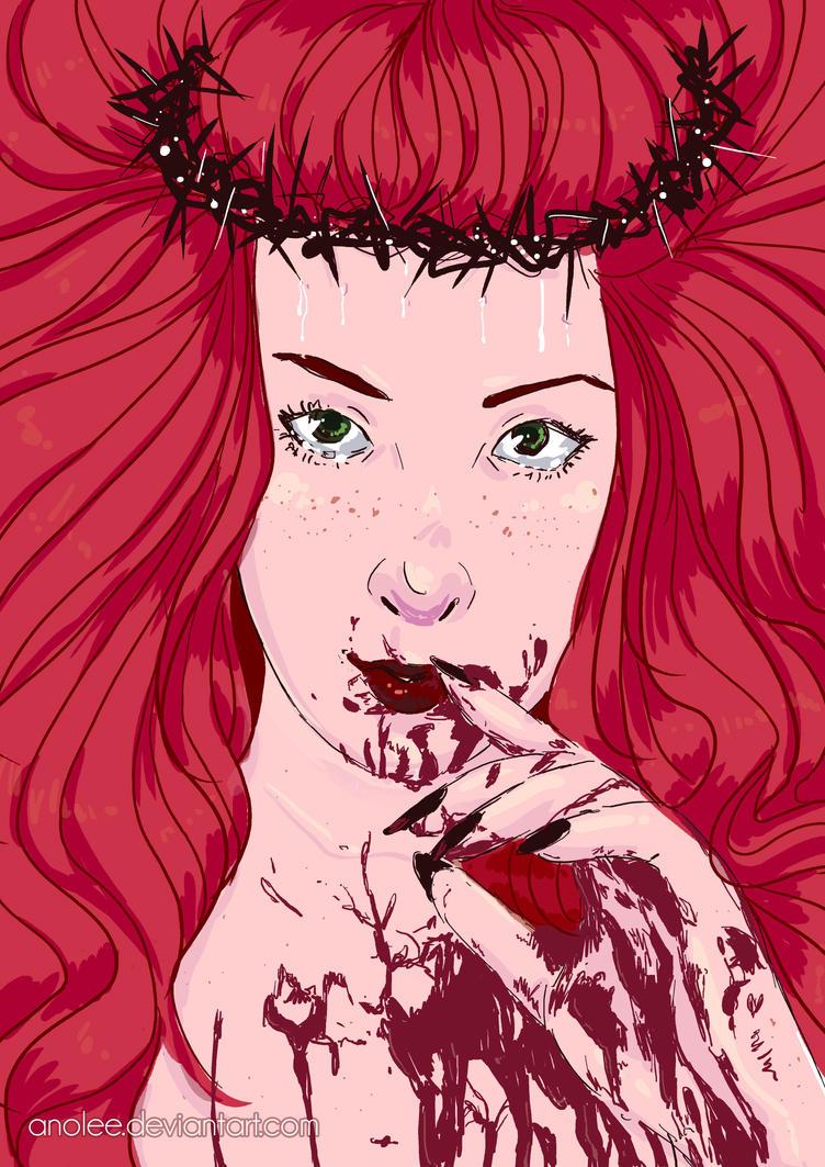 Blood + Ella by Anolee
