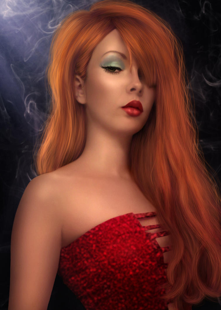 Jessica Rabbit By Abrora On Deviantart