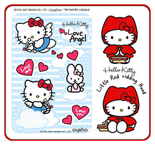 Hello Kitty collections I by fercasaus