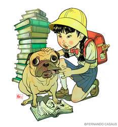 schoolgirl by fercasaus