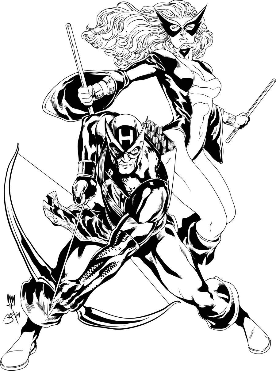 Hawkeye Mockingbird By JOEYDES On DeviantArt