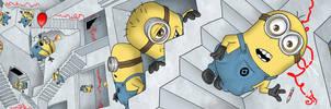 Minion Fanart Contest by JOEYDES