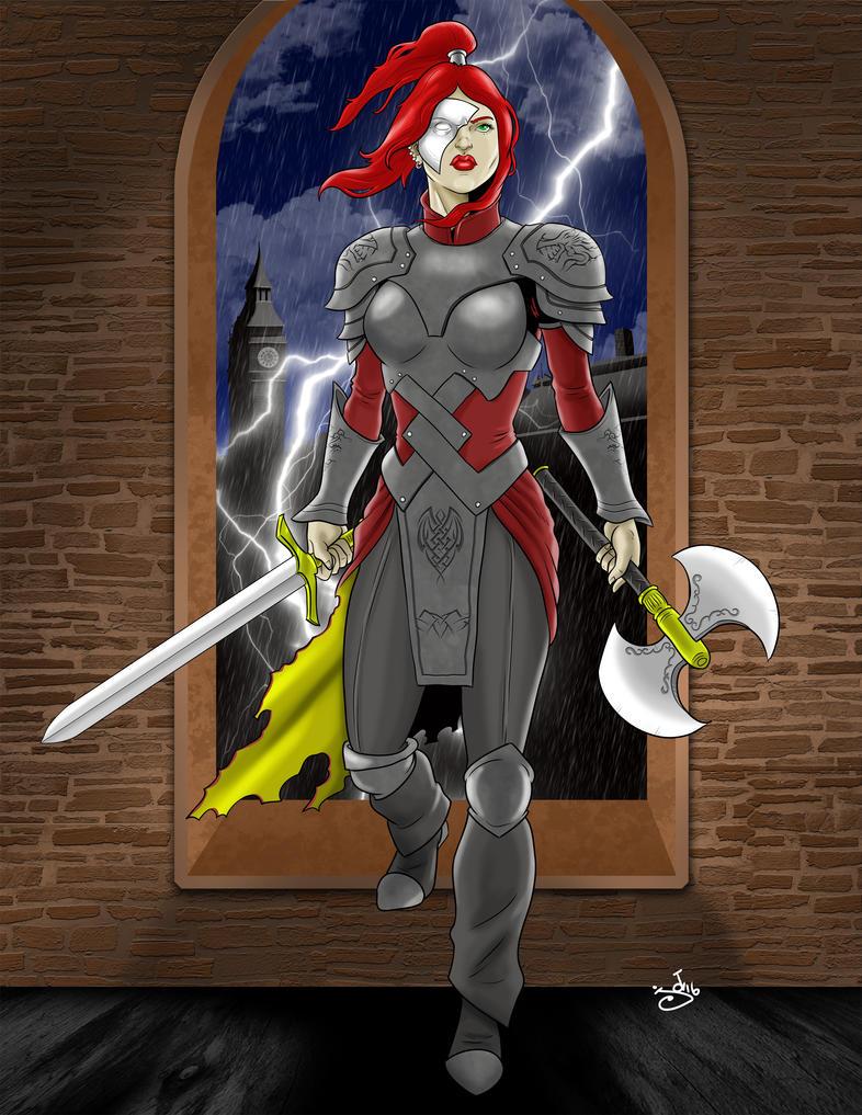 New Fem Warrior by JOEYDES