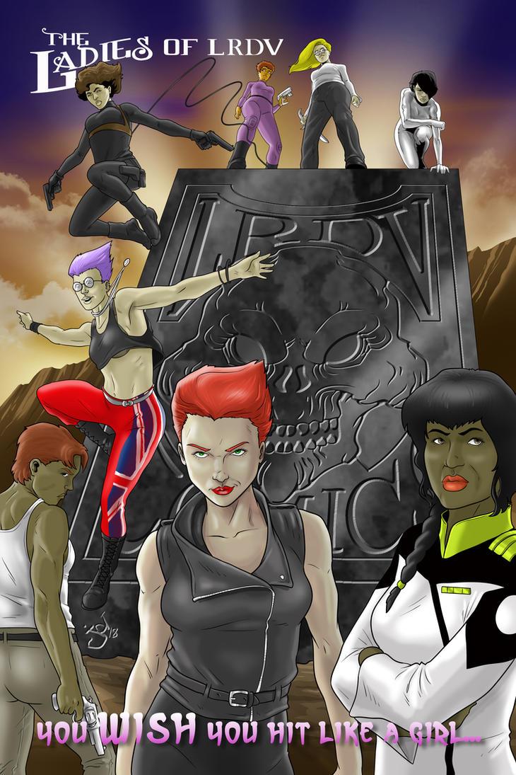 Ladies of LRDV Comics by JOEYDES