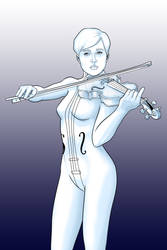 The White Violin by JOEYDES