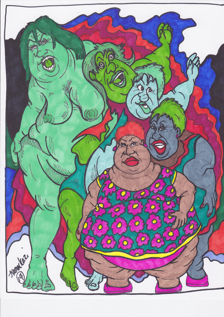 Random She-Hulking 2 by Kamackazi