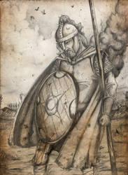 Lord Derfel Cadarn by joaoMachay