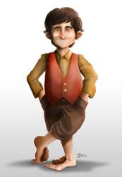 Bilbo Baggins - The Hobbit by joaoMachay