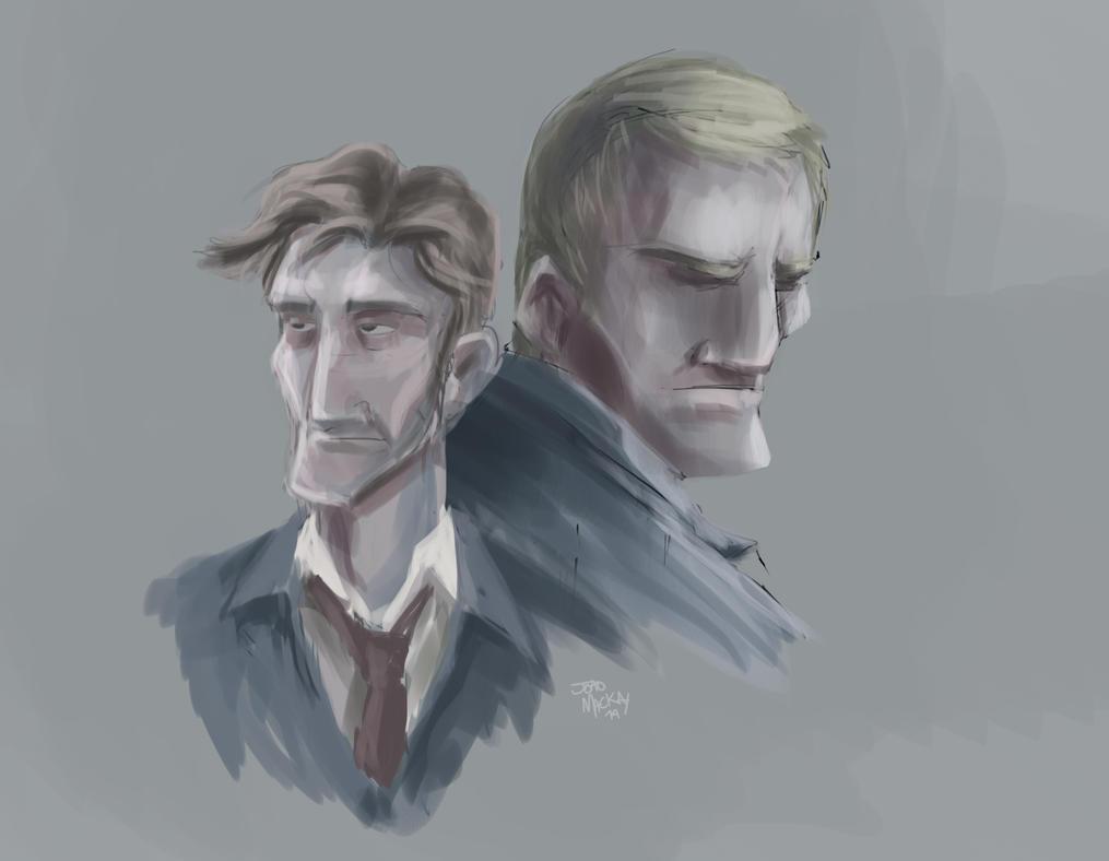 True Detective sketch by joaoMachay