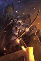 Bard the Bowman by joaoMachay
