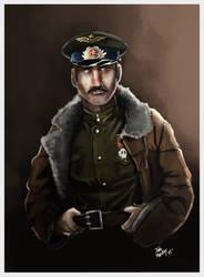 Soviet Pilot by joaoMachay