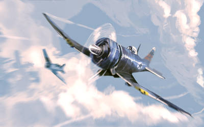 F4U Corsair by joaoMachay
