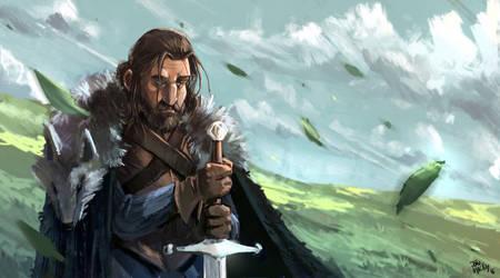 Ned Stark by joaoMachay