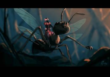 Ant-Man by joaoMachay