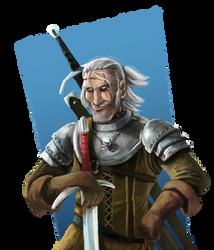 Geralt de Rivia by joaoMachay