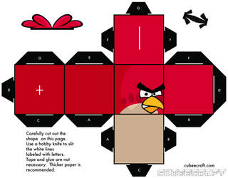 Angry Birds Cubee by gnbman