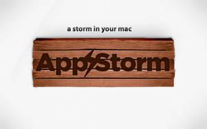 Wood AppStom Wallpaper