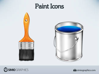 Paint Icons by simiographics