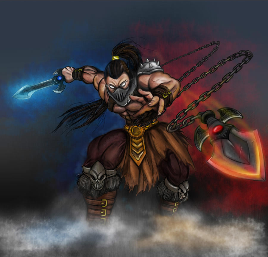 Fire And Ice Warrior Concept By Joegantic On DeviantArt