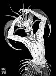 voodoo shaman by bonebreakerdevil