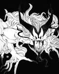 HORNS - Inktober #4