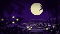 Song Sketch: Fireflies by mermaidshells