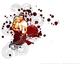 True Blood Wallpaper by faded-ink
