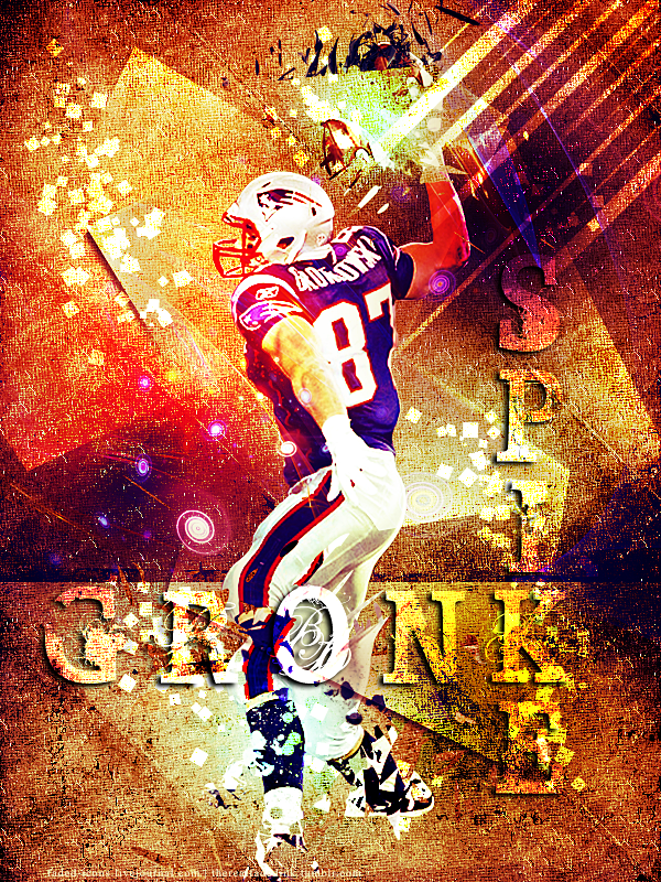 Gronk Spike By Faded Ink