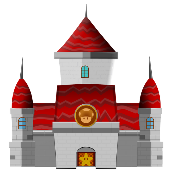 princess peach castle. Princess+peach+castle