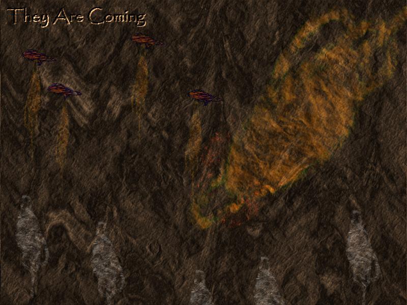 Primitive Cave Etching