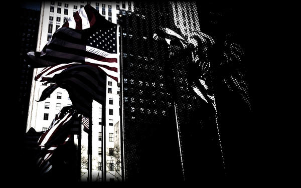 American Flag Wallpaper by Worldnewser
