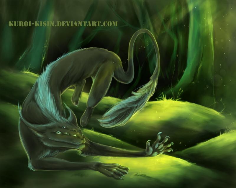 Night hound by Kuroi-kisin