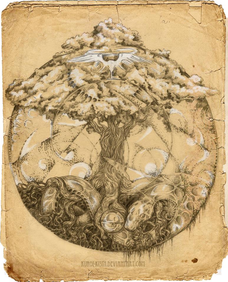 Yggdrasil Art Yggdrasil by Kuroi-kis...