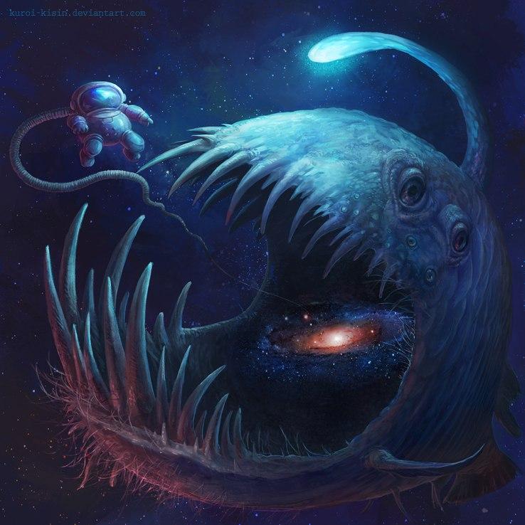 Deep space by Kuroi-kisin