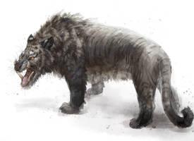 Sus scrofa tigris by Kuroi-kisin