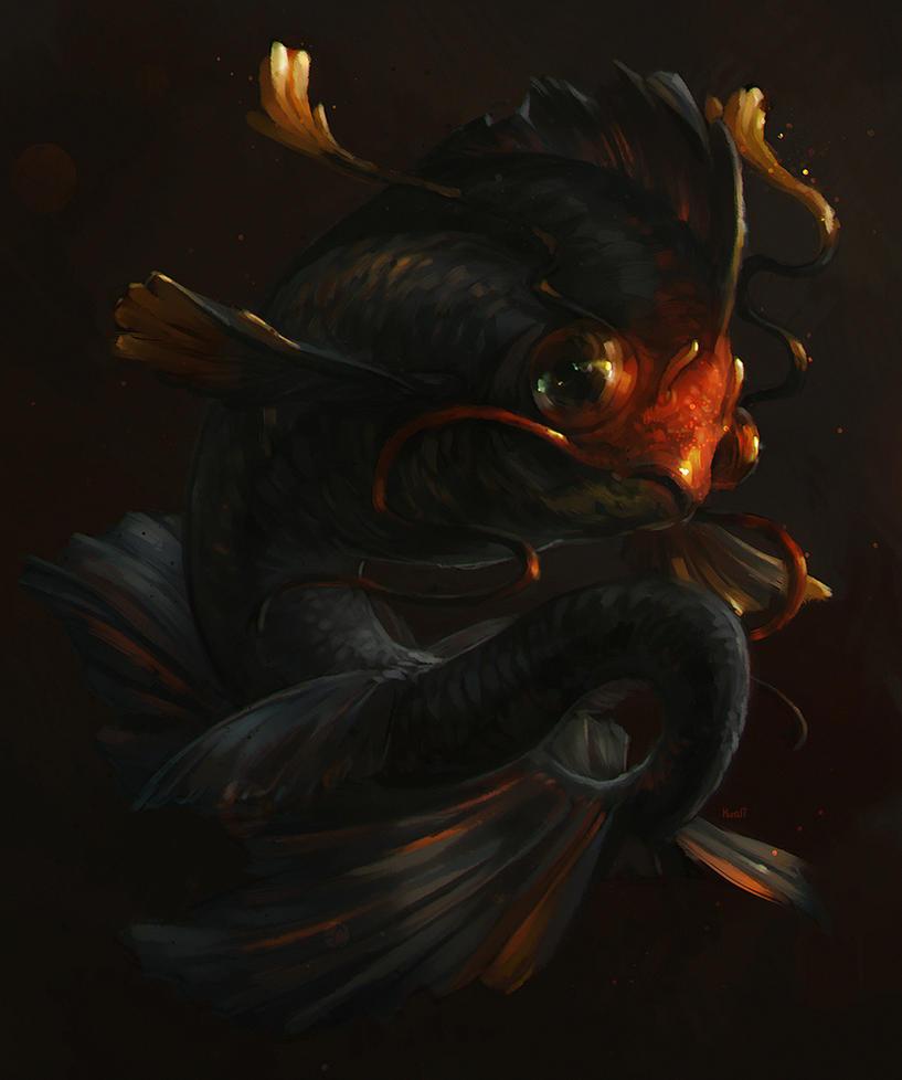 Dragonfish by Kuroi-kisin