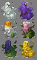 Parrotys (adoptable) 4 CLOSED by Kuroi-kisin