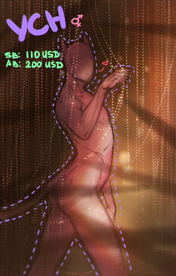 YCH: Beads CLOSED by Kuroi-kisin
