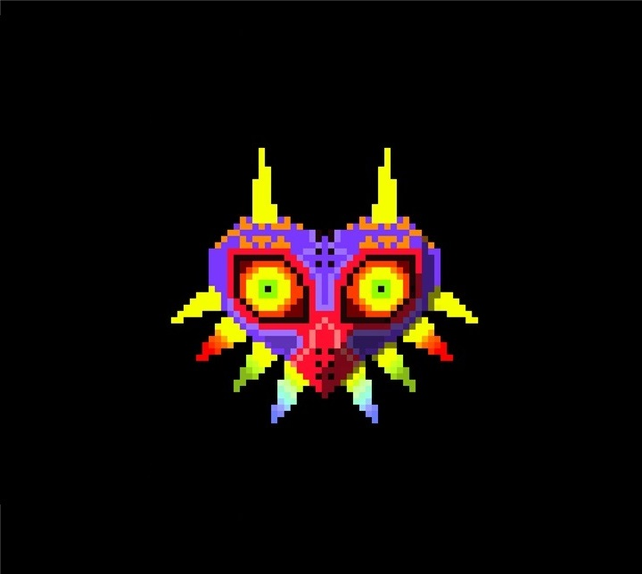 Majoras Mask pixel art by JosplosionPlus