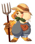 [SC] Fullbody Comm - Just a farming girl