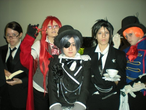 Group Kuroshitsuji Cosplay by Super-Moogles