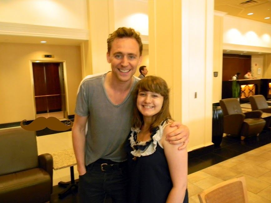 Me and Tom Hiddleston! by Super-Moogles