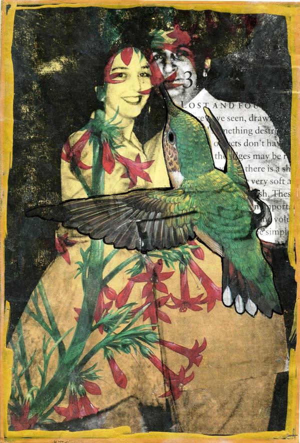 Hummingbird Love by LauraTringaliHolmes
