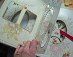 Altered Book 2 DOAD Interior by LauraTringaliHolmes
