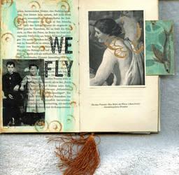 Jahrbuch spread 3A by LauraTringaliHolmes