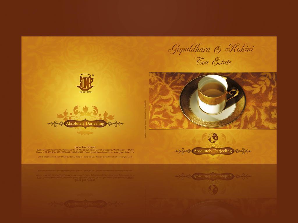 Tea Brochure by vanart on DeviantArt