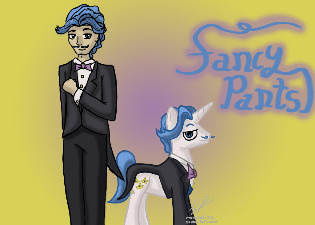 mlp_and_mlh___fancy_pants_by_monakaliza-