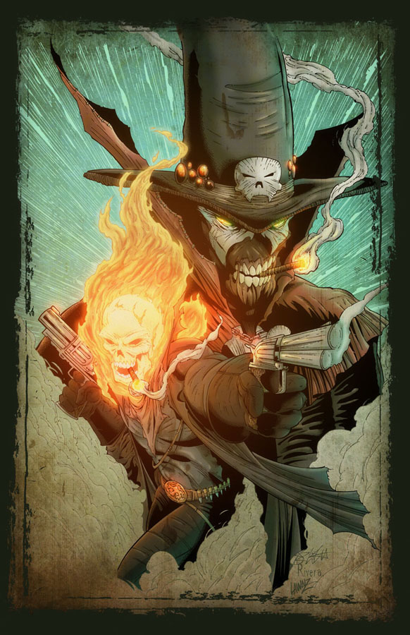 Spawn and Ghost Rider by Lawnz
