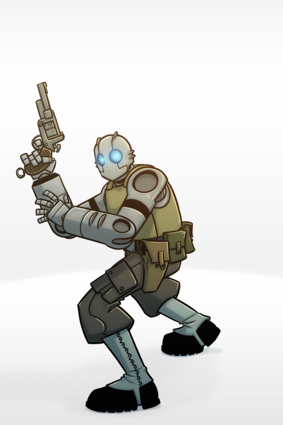<b>Atomic Robo</b> by Josh-Ulrich on DeviantArt