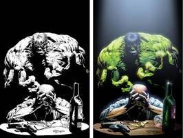 The Hulk... by Lawnz